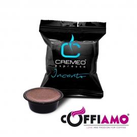 Caffè Cremeo - 100 Capsule Compatibili con Sistema Lavazza A Modo Mio - Miscela Incanto Espresso Bar