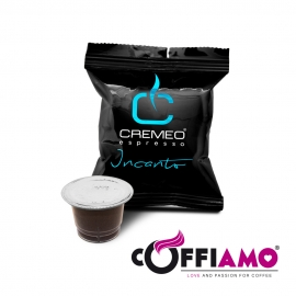 Caffè Cremeo - 200 Capsule Compatibili con Sistema Nespresso - Miscela Incanto Espresso Bar