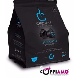 Caffè Cremeo - 100 Capsule Compatibili con Sistema NESCAFE' DOLCE GUSTO - Miscela INCANTO Espresso Bar