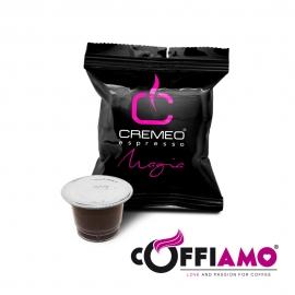 Caffè Cremeo - 200 Capsule Compatibili con Sistema Nespresso - Miscela Magia Espresso Bar