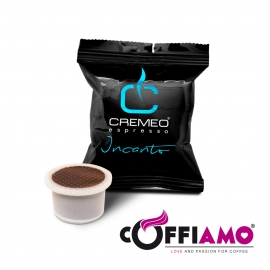 Caffè Cremeo - 400 Capsule Compatibili con Sistema UNO SYSTEM - Miscela Incanto Espresso Bar